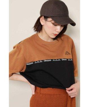 KappaバイカラーTシャツ