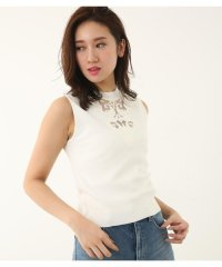 embroidery NC Knit TOP