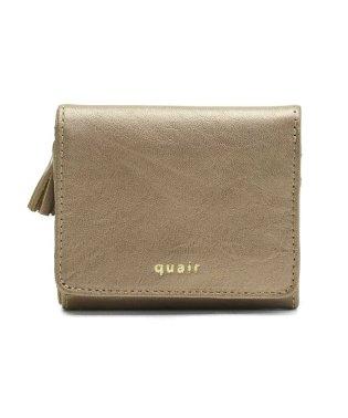 三つ折り財布 レディース 本革 クアー quair tuli Q211-1012