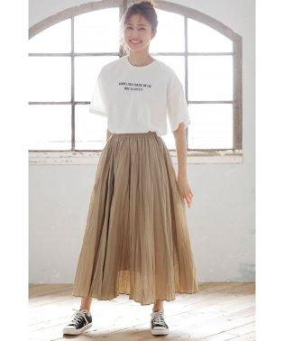 コットンワッシャーロング/スカート
