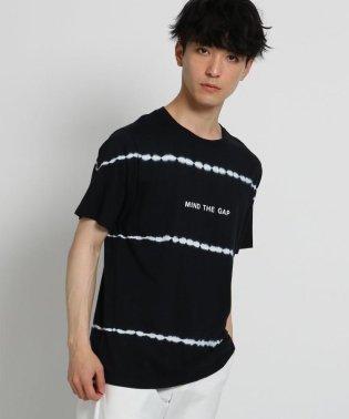 ボーダータイダイTシャツ
