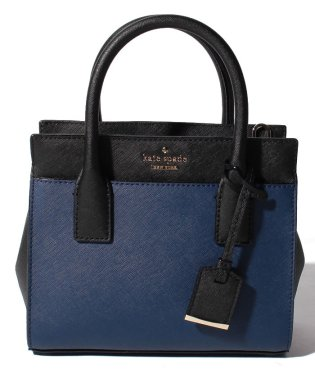 【KATE SPADE】2WAYハンドバッグ/MINI CANDACE【OCEAN BLUE/BLACK】