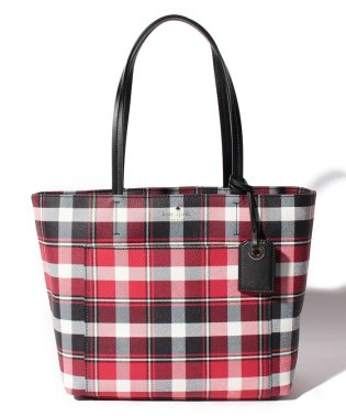 【KATE SPADE】トートバッグ/SMALL RILEY【PLAIDMULTI】