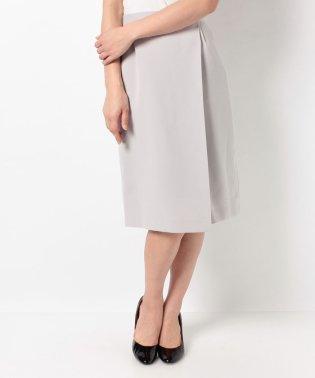 ライトダブルクロスラップタイトスカート