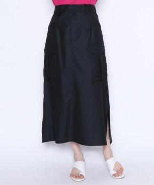 ★【アーガ Aga】サイド フラップ付きポケット セミフレアスカート