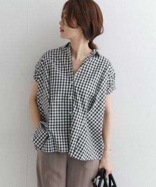 半袖ワイドタックシャツ