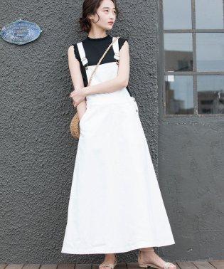 【WEB限定】コットンツイルジャンパースカート