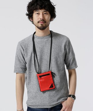 ポリ麻ニットTシャツ S/S