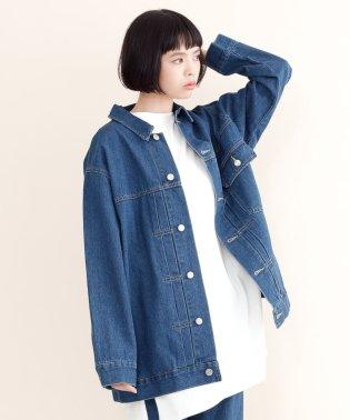 【IKYU】ビッグシルエットデニムジャケット