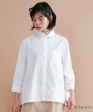 胸ポケットコットンシャツ