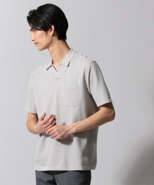 ジオメトリックパターンスキッパ ポロシャツ