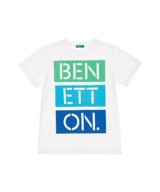 カラフルロゴ半袖Tシャツ・カットソー