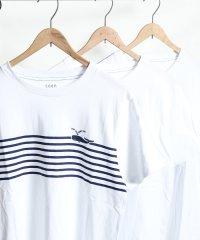 マリンプリントTシャツ