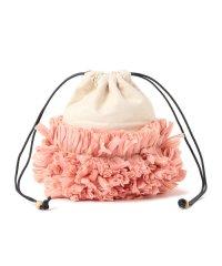 Lilas Campbell / キャンバス フラワー バッグ