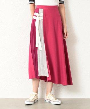 【TVドラマ着用】【GUILD PRIME】WOMEN カラーブロックベルテッドスカート
