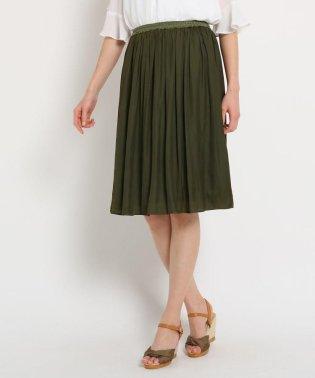 【洗える】アンピクシスサテンスカート