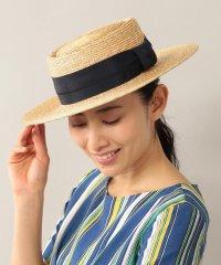 【AMACA×田中帽子店】 カンカン帽