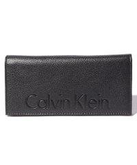 Calvin Klein Logo Pebble Secretary