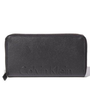Calvin Klein Pebble Logo Zip Around