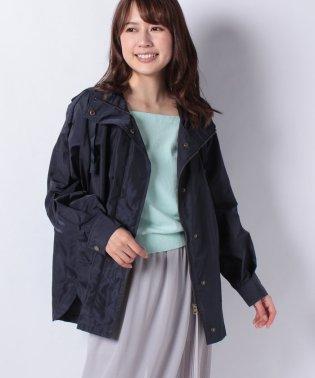 高密度タフタフードミリタリージャケット