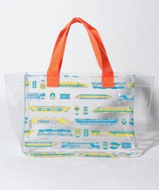 柄パターンプールバッグ