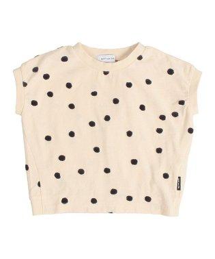 ポコポコドットJQテンジクヘンケイサークル 半袖 Tシャツ