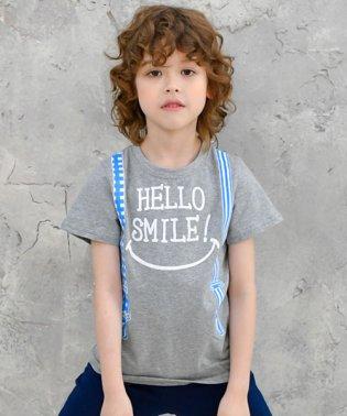 プリント入り半袖Tシャツ