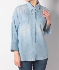 McGデニム(UV加工)シャツ