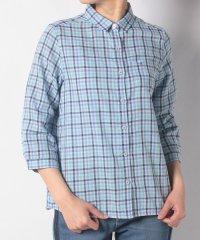 McG二重織チェックシャツ