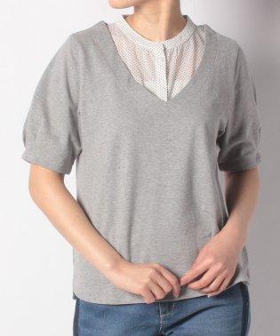 McGドットプリント半袖ポロシャツ