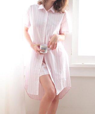 半袖ワンピース パジャマ 上下セット (aimerfeel)
