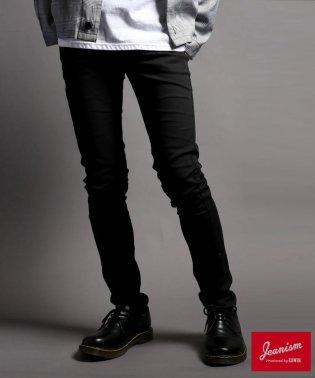 【JEANISM EDWIN】【マルカワ限定 別注】 スリムテーパードパンツ ブラック