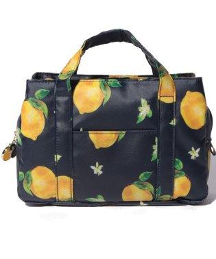 レモン柄バッグインバッグ