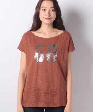 デボレプリントフレンチ半袖Tシャツ・カットソー