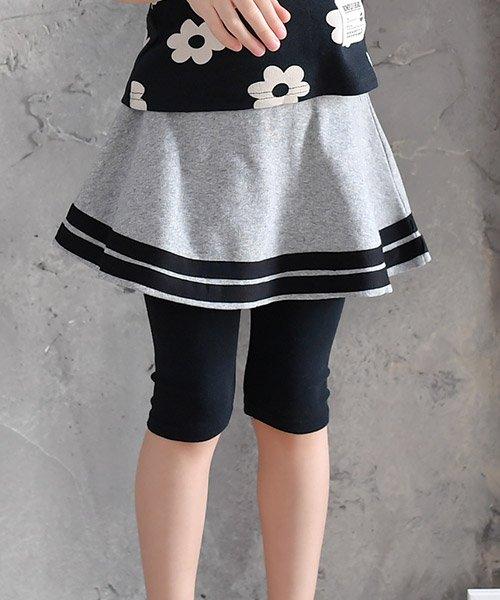 15fdf3f155eb0 セール レギンス付きスカート|コドモフクビー(子供服Bee)のスカート ...
