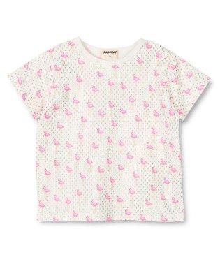 フラミンゴ半袖Tシャツ