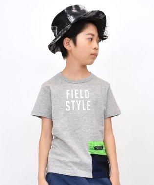 リアルサコッシュ付きTシャツ