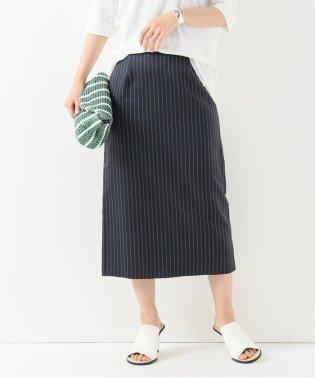 キュプラストライプスカート