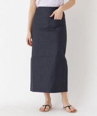 SOFIE D'HOORE  アシメビッグポケットロングタイトスカート