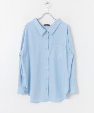 ルーズシルエットシャツ