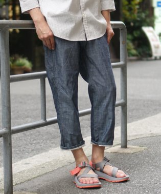 BEAMS / 裾裏 7分丈 ペインターパンツ