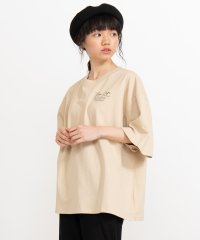 WEGO/バックフォトプリントTシャツ