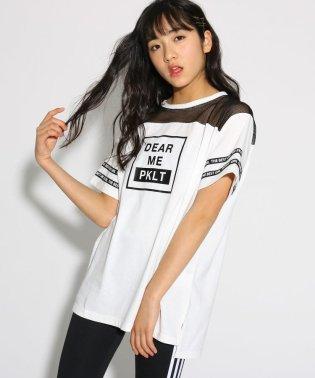 メッシュ切替 Tシャツ