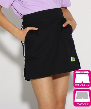 サイドラインスリット台形 スカート