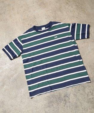 【一部店舗限定】【Lee】ボーダークルーネックTシャツ