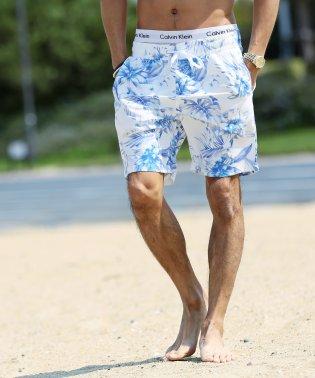 サコッシュ 付き スイム ショートパンツ / 水着 メンズ ショーツ 海パン ボードショーツ ハーフパンツ