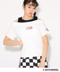 【MARVEL】タンクレイヤード風 Tシャツ