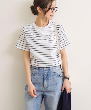 綿100% ポケット付き 半袖 Tシャツ カットソー トップス