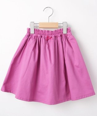 【90-140cm】リボンフレアパンツ付スカート