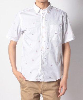 McGフラッグモチーフ半袖シャツ